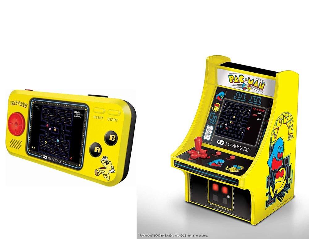 Pac Man Machine >> Amazon Com My Arcade Pac Man Hits Player Handheld Games Pac Man 6
