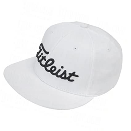 Image Unavailable. Image not available for. Color  New 2014 Titleist Flat  Bill Fitted Hat Cap ... 81f9e6c8afb