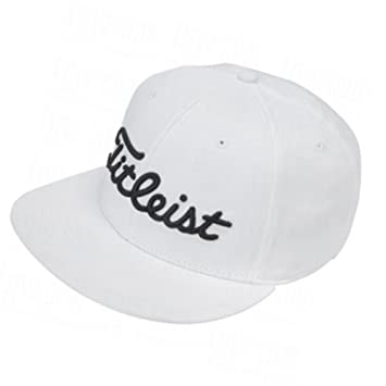 25af1ff13c9 ... hat 2010  available 7d765 fcd25 New 2014 Titleist Flat Bill Fitted  HatCap COLOR White SIZE S  wholesale sales ...