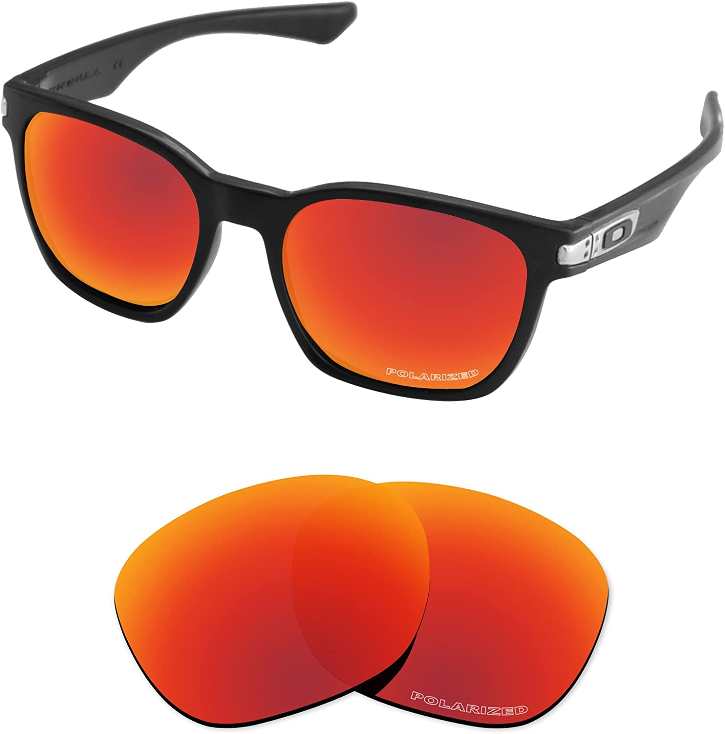 Tintart Performance Lenses Compatible with Oakley Garage Rock Polarized Etched