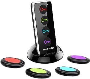 3stk Schlüsselfinder LED Taschenlampe Schlüssel Anti-Lost Key Finder Pfeifen Kit