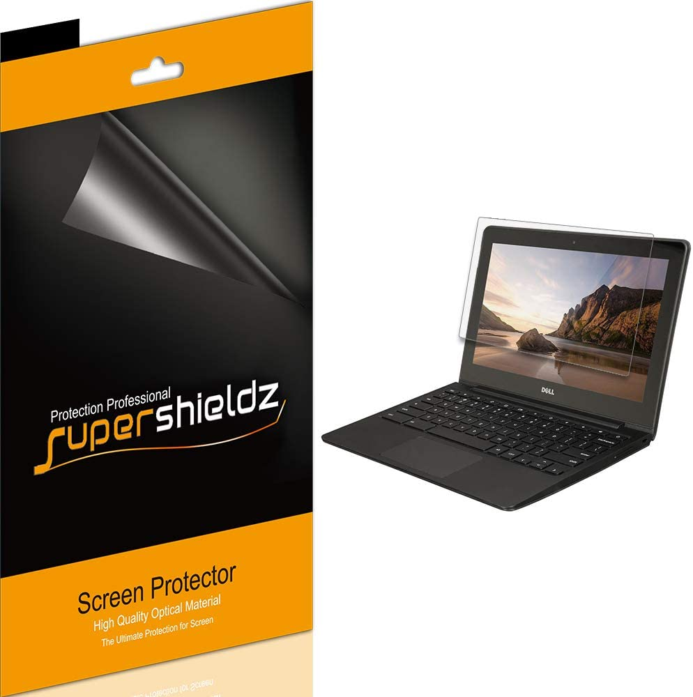 Supershieldz (3 Pack) for Dell Chromebook 11 (11.6 inch) Screen Protector, Anti Glare and Anti Fingerprint (Matte) Shield