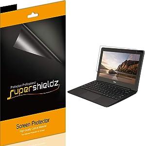 Supershieldz (3 Pack) for Dell Chromebook 11 (11.6 inch) Screen Protector, Anti Glare and Anti Fingerprint (Matte) Shield