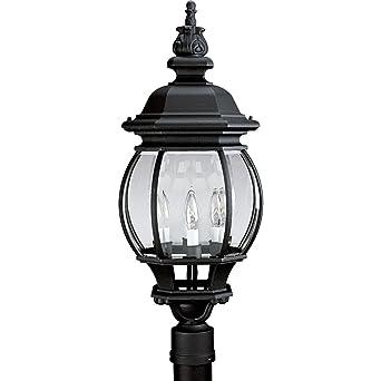 Amazon progress lighting p5401 31 4 light post lantern with progress lighting p5401 31 4 light post lantern with clear beveled glass textured aloadofball Image collections