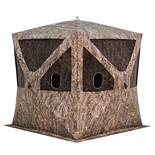 - Barronett Blinds BC350BB Big Cat Pop Up Portable Hunting Blind, Bloodtrail Blades Camo