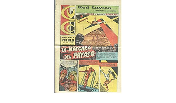 El cuco numero 68: Red Layton: la mascara del payaso: Antonio Arias-F.Cascajo: Amazon.com: Books