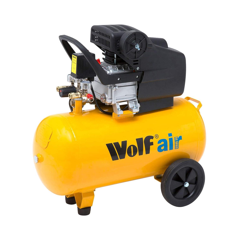 Wolf Sioux 50, 2.5HP, 9.6CFM, 230V, MWP: 116psi, 50L Litre Air Compressor Sioux50