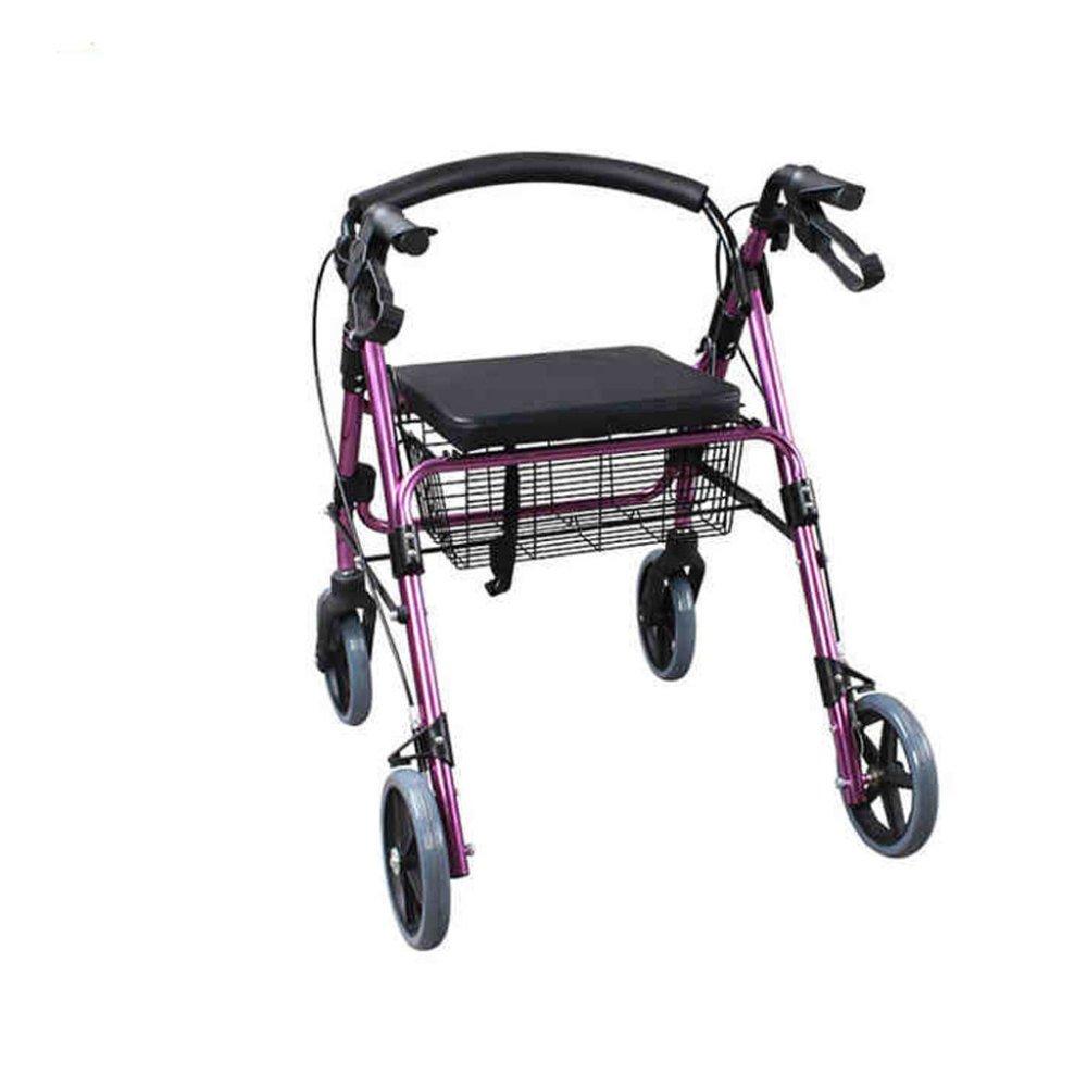 YAN-Rollators Andador para Ancianos De 4 Ruedas | Peso ...