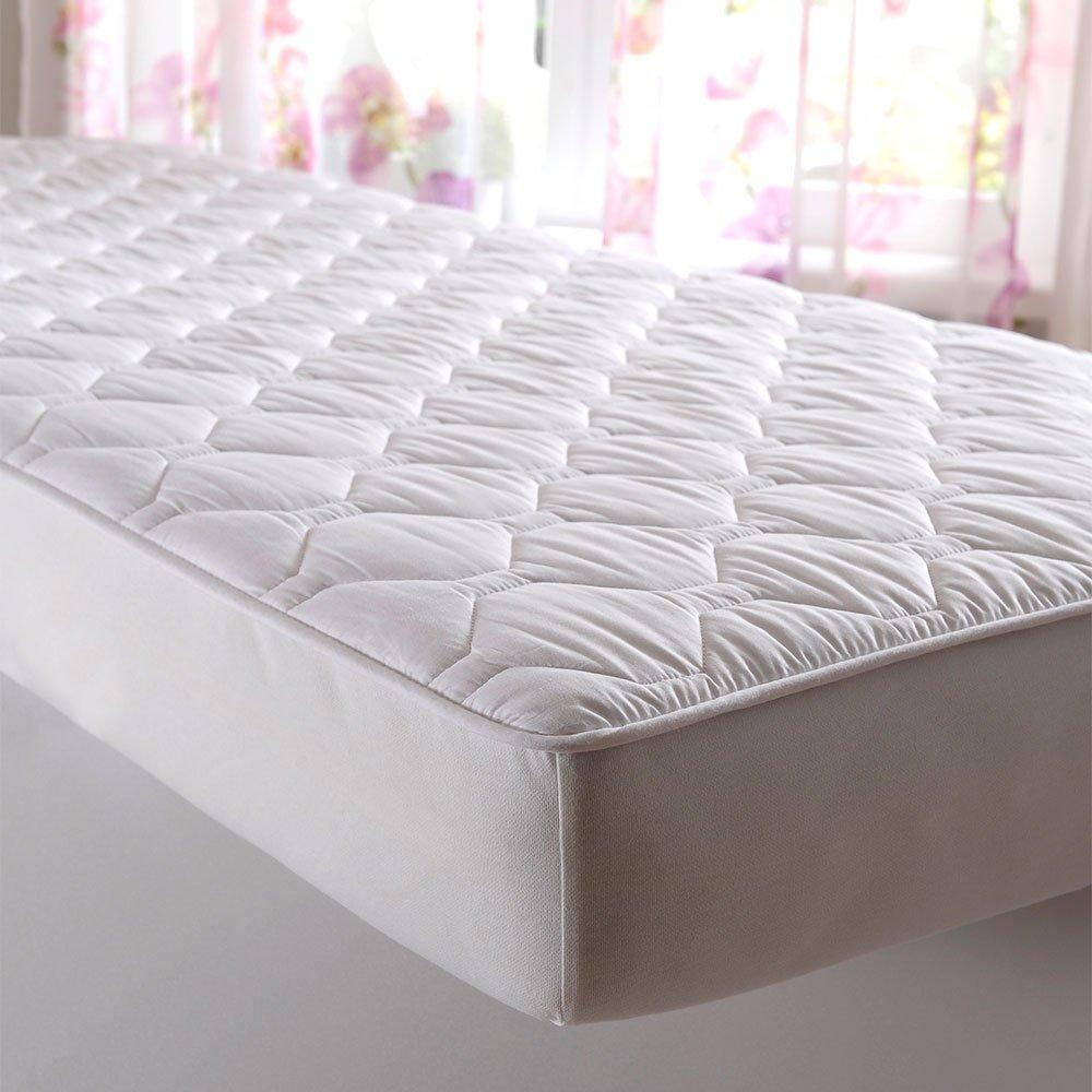 G Bettwarenshop Baumwolle Spannauflage Unterbett 200x200 cm