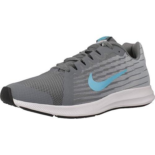 Nike Downshifter 8 (GS), Zapatillas de Atletismo para Niños: Amazon.es: Zapatos y complementos
