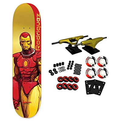 "Primitive Skateboard Complete Moebius Marvel Rodriguez Iron Man 8.125"" : Sports & Outdoors"