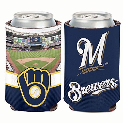 WinCraft Milwaukee Brewers Stadium 12oz Can ()