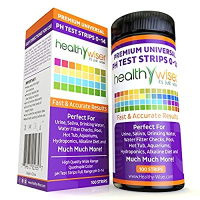 Universal pH Test Strips 0-14
