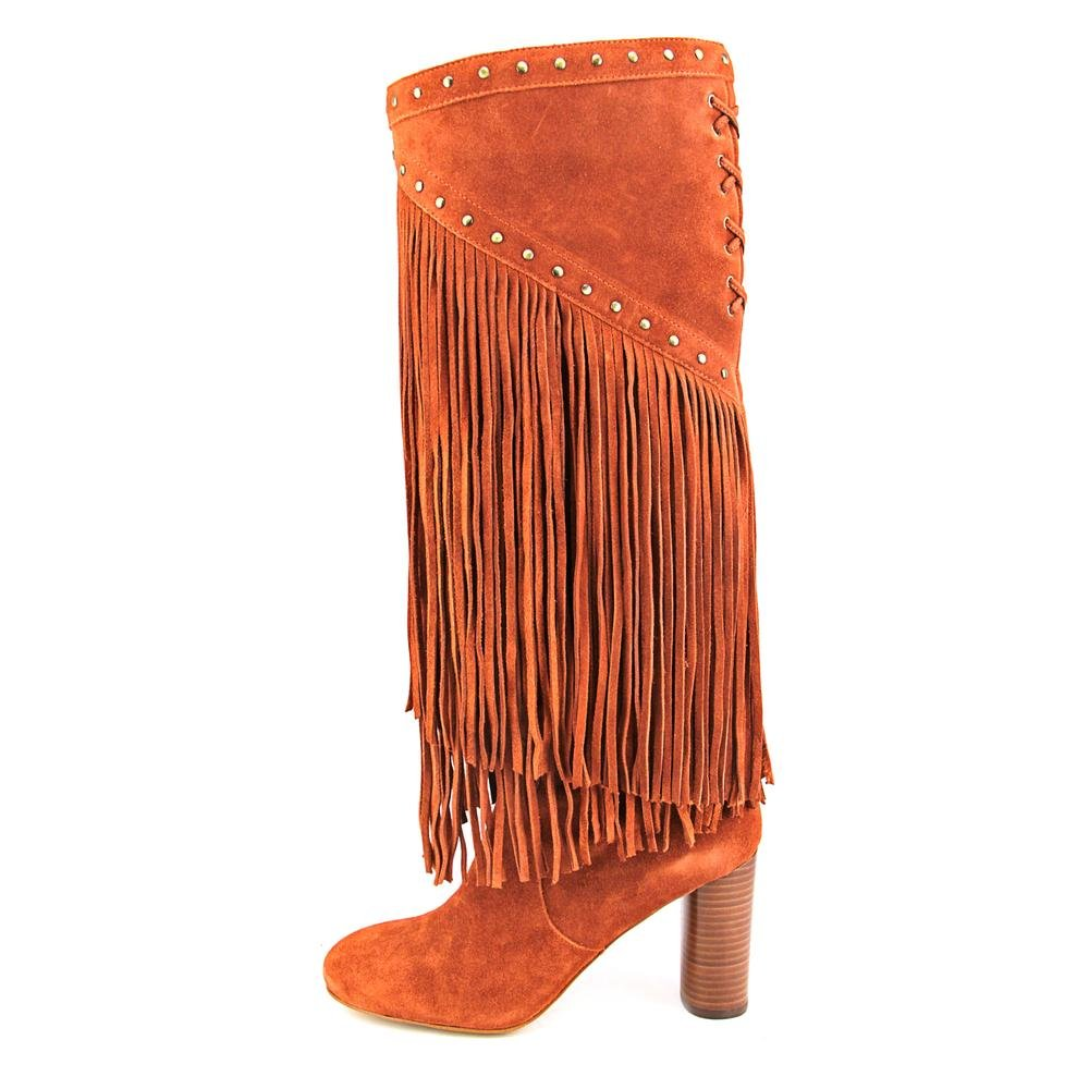 INC International Concepts Womens Tolla Leather Closed Toe Knee High Cowboy B. B0015J940W 9 B(M) US Spiced Orange