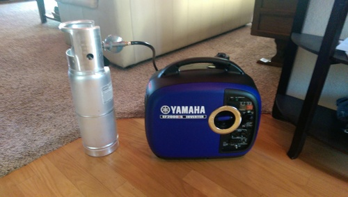 Yamaha EF2000iSv2, 1600 Running Watts/2000 Starting Watts, Gas Powered