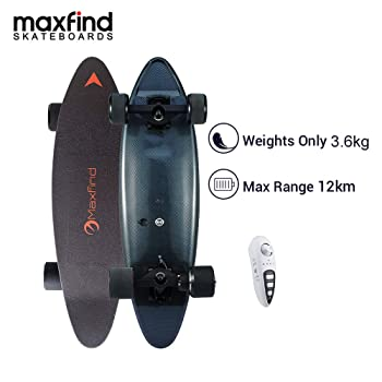 Maxfind MAX C Penny Electric Skateboard (Black)