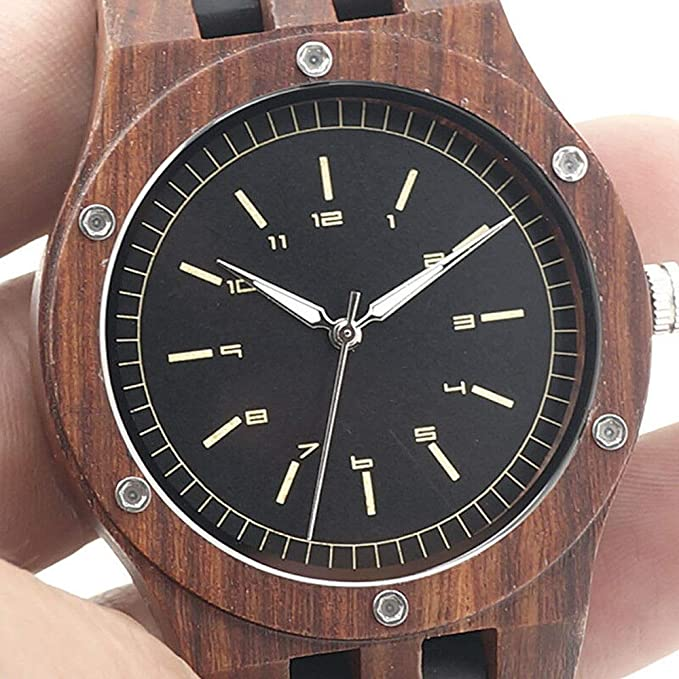Reloj de Pulsera Unisex de Madera