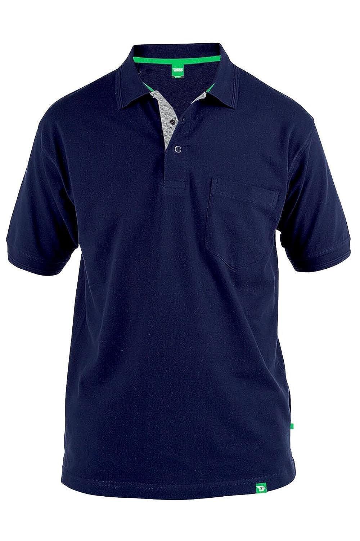 Duke London Mens Premium Quality 100% Cotton Polo Shirt 3XL-8XL.