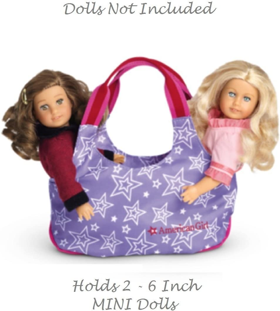 American Girl 2Pcs Blue Starry Backpack for Doll