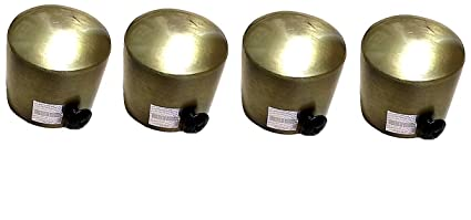 A & Y Traders Antique End Caps (Only Finials, no supports are included) Pack of (4)