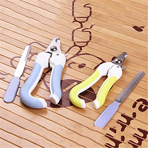 Catnew Professional Pet Dogs Cats Animal Claws Scissor Cut Nail Clipper File Cutter