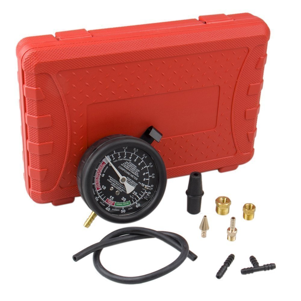 Bang4buck Fuel Pump & Vacuum Tester Carburetor Pressure Tester Gauge Set for Cars, SUVs,Trucks and ATVs by Bang4buck (Image #3)