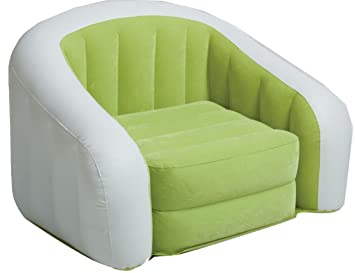 Amazon.com: Intex Verde Cafe Club inflable silla: Kitchen ...