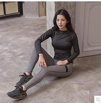 YANGCONG Ropa de Fitness de Yoga Conjunto de 2 Piezas para ...