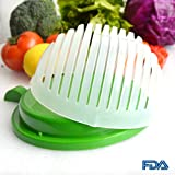 Quick Chop Salad Cutter Bowl, Easy Speed Salad