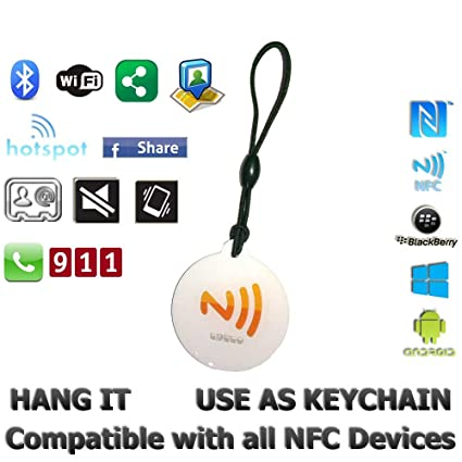 TapTo NFC Tag keychain for Android 86403a9a6