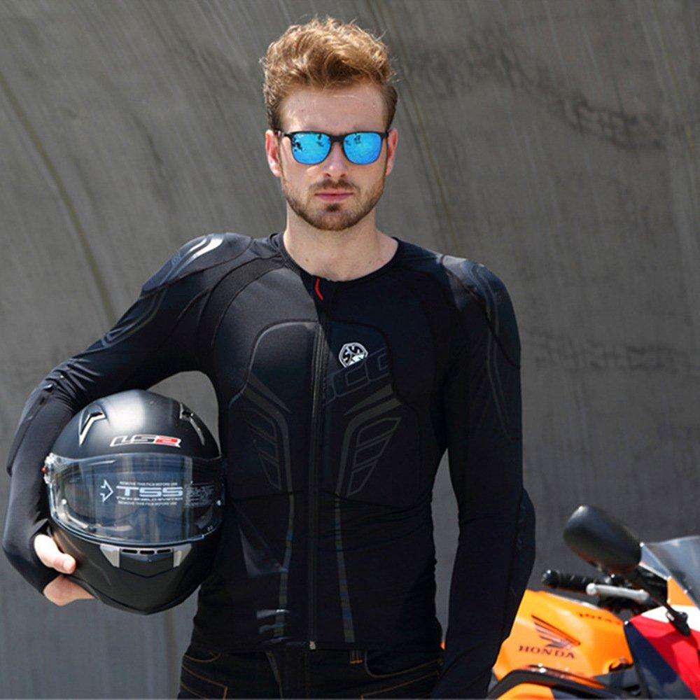 Scoyco AM03 Men's Motorcycle Motocross Racing Protective Gear Jacket Armor (L) by SCOYCO (Image #5)