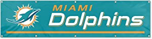 Party Animal Miami Dolphins Giant 8' Team Banner