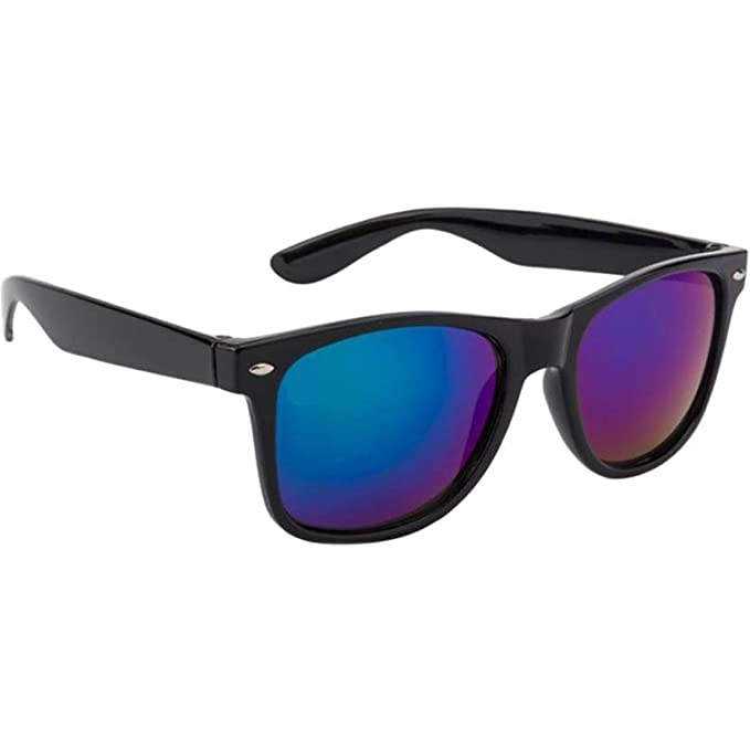 WMC UV Protected Non-Breakable POLARISED Wayfarer Unisex Sunglasses