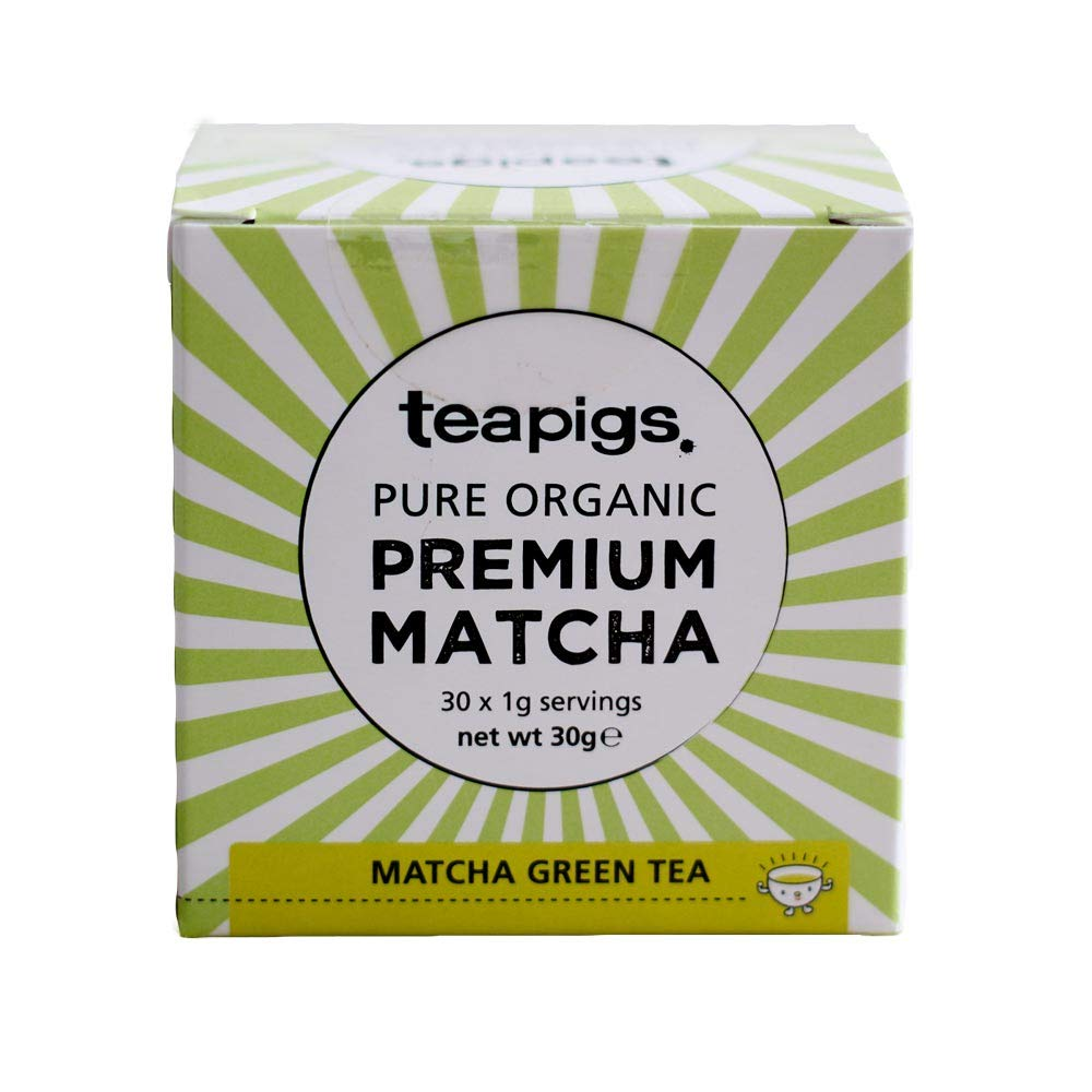 Teapigs Organic Matcha Super Power Green Tea 30g