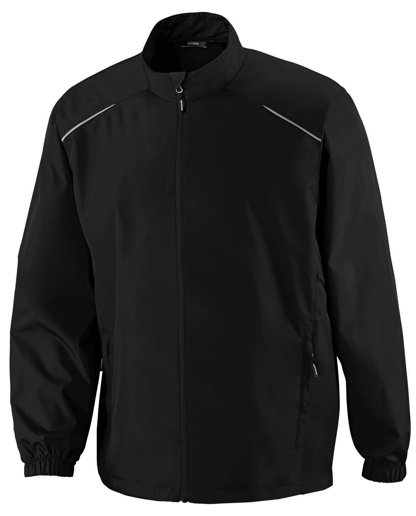 North End Core365 Big and Tall Unlined Lightweight Jacket (Black 4X-T)