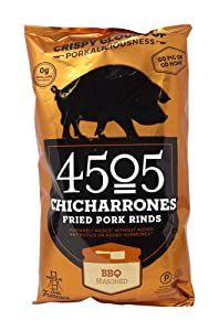4505 Meats Chicharrones Fried Pork Rinds, Smokehouse BBQ, 2.5 oz