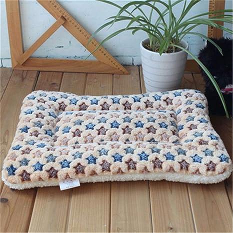 Cálida cama de perro de invierno Suave paño grueso y suave ...