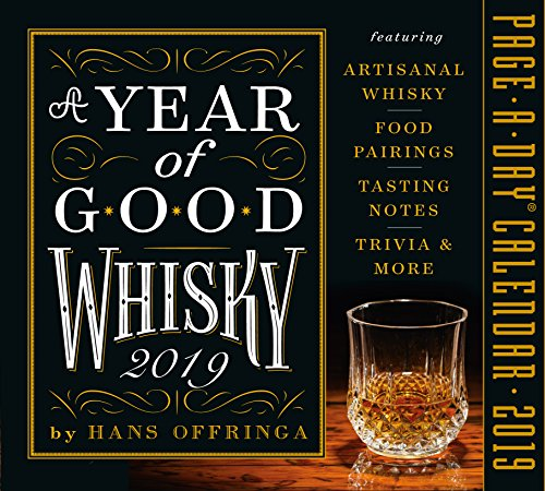 A Year of Good Whisky Page-A-Day Desk Calendar 2019 [5.5