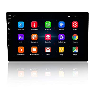 LEXXSON 9 inch Android 8.1 Car Radio 1024x600 GPS Navigation Bluetooth USB Player 2G DDR3 + 16G NAND Memory Flash: GPS & Navigation