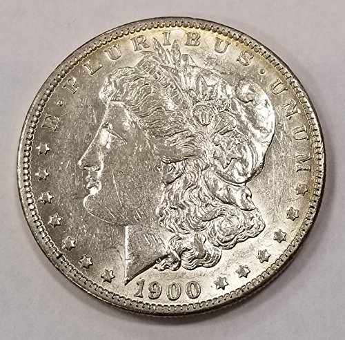 1900 O Morgan Silver Dollar O Over CC Cleaned $1 Net AU (Dollar Net)