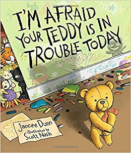 Image result for I'm afraid your teddy is in trouble