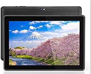10 inch Android WiFi Tablet, Android 9.0 Pie, GMS Certified, Quad Core 64 bit,4GB RAM, 64GB Storage, IPS HD Display, Bluetooth, GPS