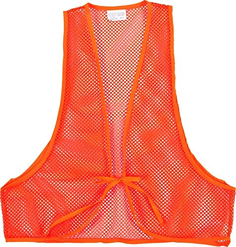 Allen Hunter's Orange Mesh Safety Vest