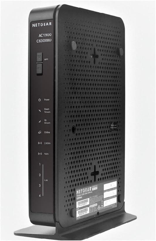 SEALED Netgear C6300BD AC1900 Docsis 3.0 Cable Modem Wireless Router Gateway