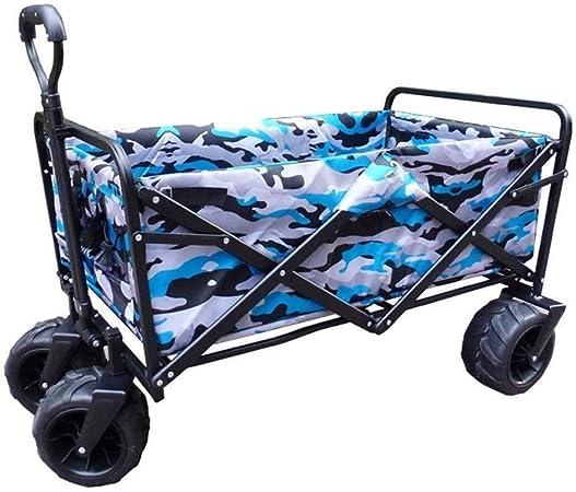 SOAR Carrito de Jardín 4 ruedas Beach carro plegable carro del carro de jardín Jardín de