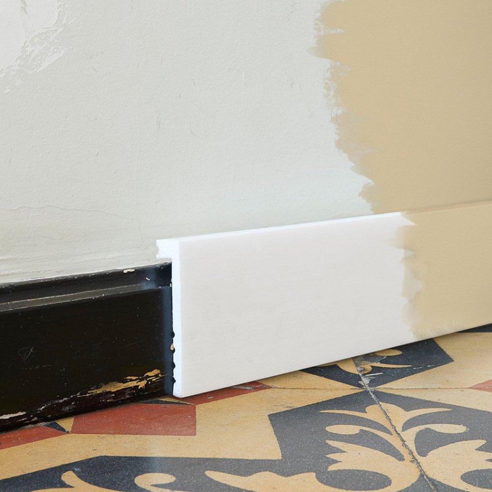 2 Meter Orac Decor SX171 AXXENT Sockelleiste Aufsetzleiste Fussbodenleiste Leiste Stuckprofil Friesleiste Abschluss Dekor Profil FLEX Leiste sto/ßfest