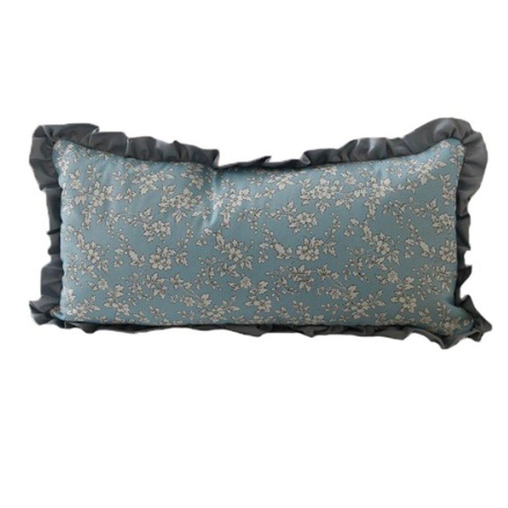 [ローズデコ] Buckwheat Pillow with Buleカバー23 cm x48 cm B079HVH8CX