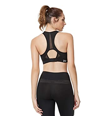 331fb0001a619 Yvette Women s Compression Sports Bra-High Impact Support Full Figure Plus  Size Wirefree Strappy Workout