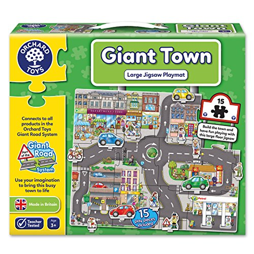 Orchard Toys Giant Town Jigsaw Floor Puzzle (15 Piece)