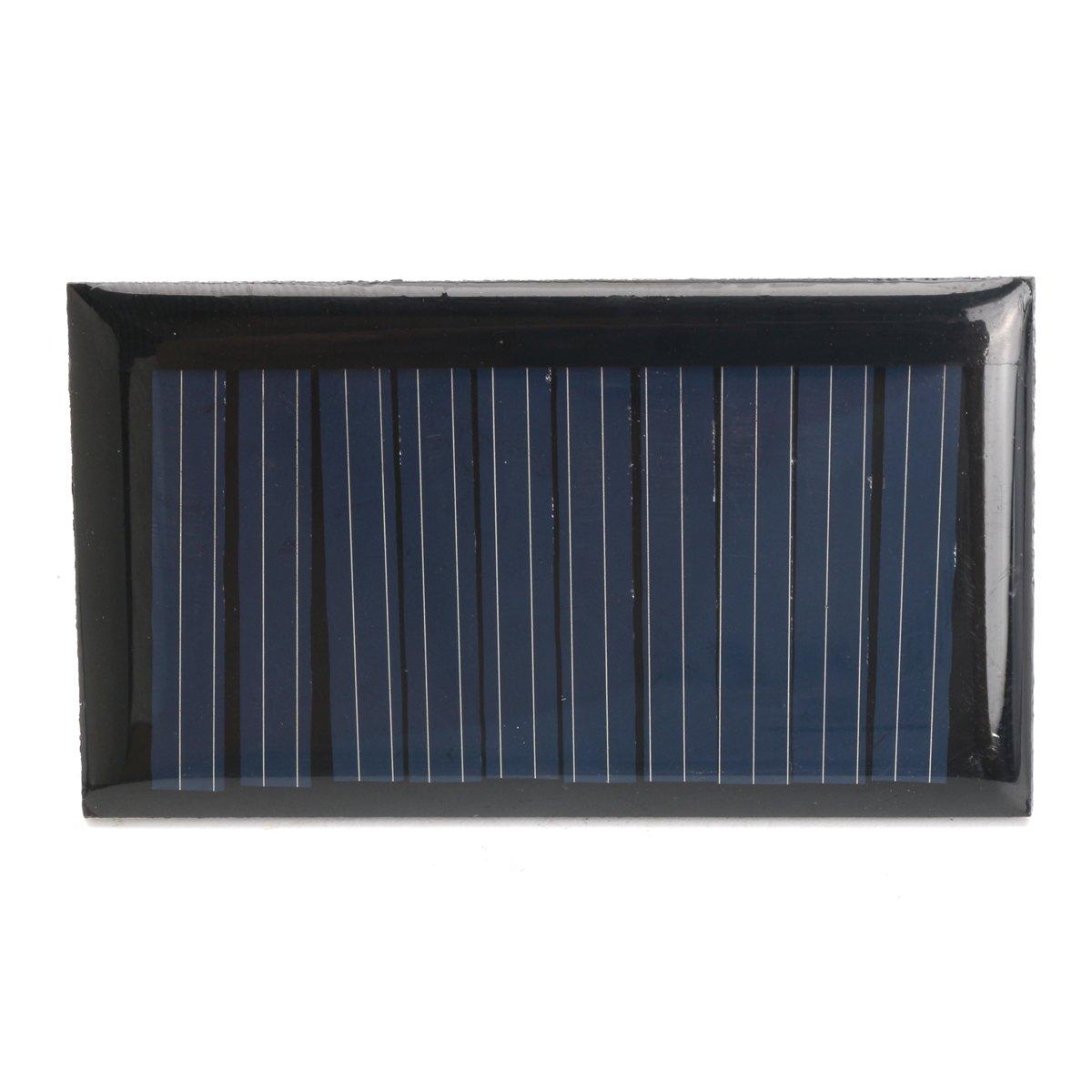 dDanke 30mA 5V 53* 30mm Micro Mini Power cellules solaires 1PC sans fils pour panneaux solaires
